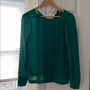 100% silk Dress shirt from Madewell